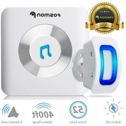 Fosmon WaveLink: Outlet Receiver + Wireless Door Sensor for