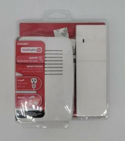 Utilitech White Wireless Doorbell Kit With Extender
