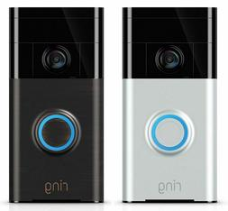 Ring Wi-Fi Video Doorbell HD Wireless 720P - Works with Alex