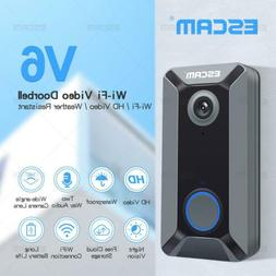WIFI 720P Wireless Doorbell 140° Video Camera Night Vision
