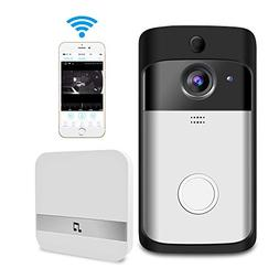 Video Doorbell, GEREE WiFi Smart Wireless Doorbell 720P HD S