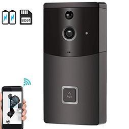 WiFi Video Doorbell, Wireless Smart Doorbell Camera, SOOCOO