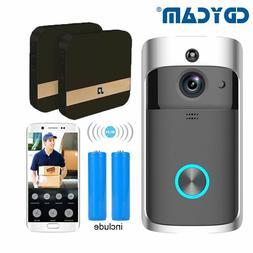 WIFI Doorbell Security Camera IP Video Intercom Video Door P