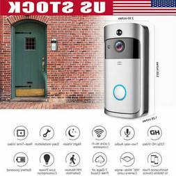 WiFi Doorbell Smart Phone Video Door Ring Intercom Security