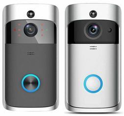WiFi DoorBell Video Phone Doorbell IR Camera System w/ Batte