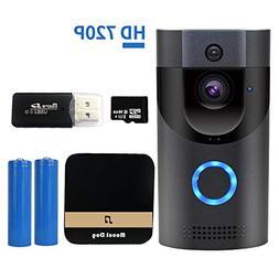 WiFi Smart Video Doorbell Camera Wireless Door Bell 720P HD