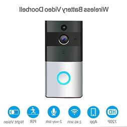 WiFi Wireless Video Doorbell with 8G Memory Storage and Two-