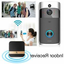 WIFI Wireless Doorbell Smart Ring Video Visual Camera Interc