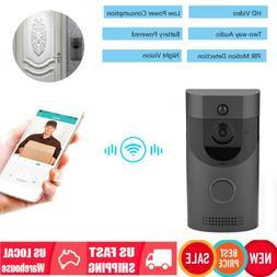 WiFi Wireless HD Video Doorbell Two-Way Talk Smart Doorbell