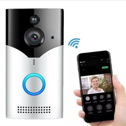 WiFi Wireless Video Doorbell Two-Way Talk Smart PIR Door Bel