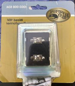 Hampton Bay Wired Door Bell 16 VAC Doorbell Transformer Low-