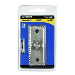 Carlon wired door bell button DH1667NL  8 - 24v  Volt