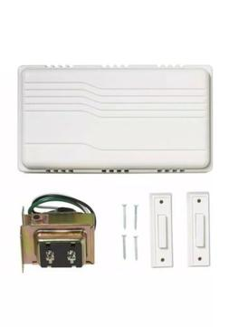 Wired Door Bell Contractor Kit 216598 for front and back doo