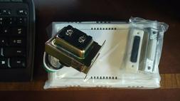 Atticus Electronics Wired Door Bell Deluxe Contractor Kit, 2
