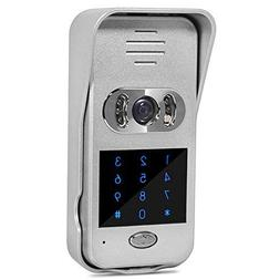 Wired Doorbell Camera with HD 720P, iOS and Android Lock Unl