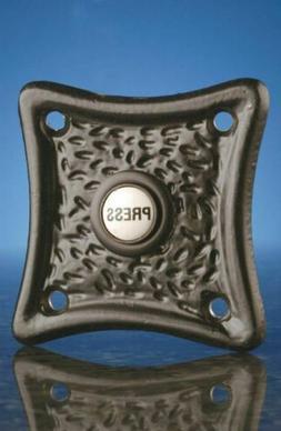 Wired Flush Fitting Push, Black, Model 5841