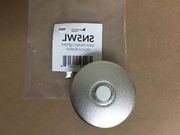 Wired Lighted Door Chime Bell Button Satin Nickel Stucco sim