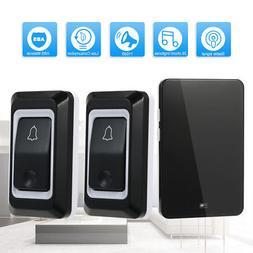 Wireless AC Doorbell Push Button Door bell Smart Ding Dong 1