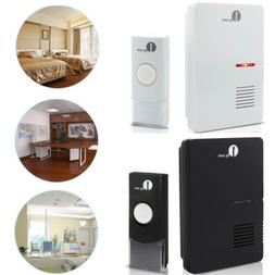 1byone Doorbell Wireless Battery LED Indicator 36 Chimes Doo