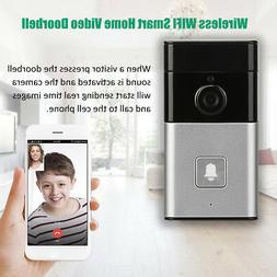 Wireless BT WIFI Smart HD Video Waterproof Doorbell Camera P