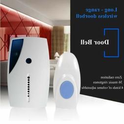 Wireless Digital Doorbells 36 Chimes Remote Control Home Doo