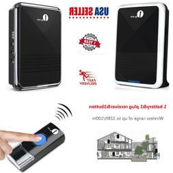 1byone Wireless Door Bell 36 CHIMES 300ft Range Digital Door