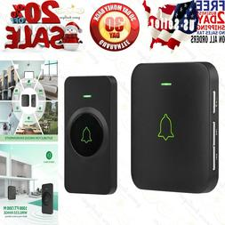 Wireless Door Bell, AVANTEK Mini Waterpoof Doorbell Chime Op