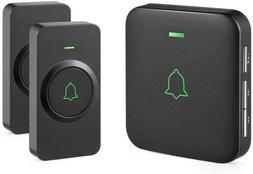 Wireless Door Bell, AVANTEK CB-21 Mini Waterproof Wireless D