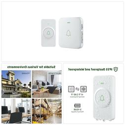 Wireless Door Bell, AVANTEK CW-11 Mini Waterpoof Doorbell Ch