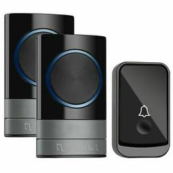 Wireless Door Bell Doorbell Latest Loud Chime LED Flash Tran