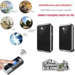 1byone Wireless Door Bell Plug in Doorbell Battery Easy Chim