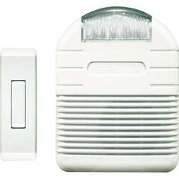 Wireless Door Chime with Strobe Light Alert
