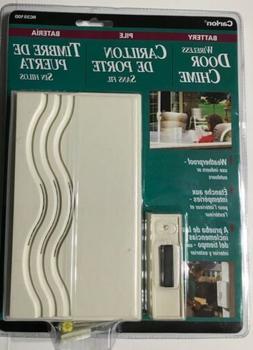 Carlon Wireless Door Chime Weatherproof Indoor/Outdoor RC351