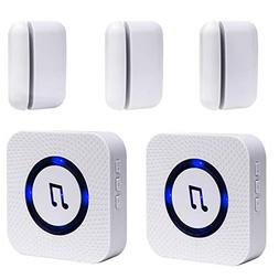 Wireless Door Open Chime Entrance Entry Alert Kit for Busine