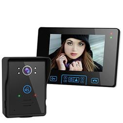 2.4G Wireless Door Phone Doorbell Intercom System HD Digital