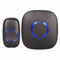 SadoTech Wireless Doorbell, 1000-feet Range, 52 USA Chimes W