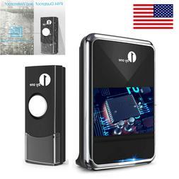 1byone Wireless Doorbell 1000ft Long Range Battery Operated