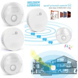 1byone Wireless Doorbell 36 Chimes Home Bell Kit 150M Long R
