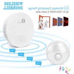 1Byone Wireless Doorbell 36 Chimes Ring Home 150M Range LED