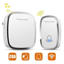 Bodyguard Wireless Doorbell with 1 Remote Button (Battery