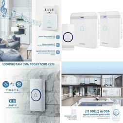 Wireless Doorbell, Avantek D-3W Waterproof Door Chime Kit Op
