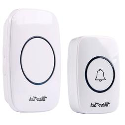 Wireless Doorbell Battery Operated Door Bell with 1Transmitt