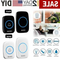 Wireless Doorbell Battery Operated Door Bell w/ 1Transmitter