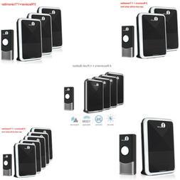 1Byone Wireless Doorbell Battery-Operated Receiver Sensor Wa