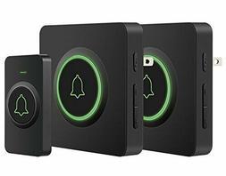 Wireless Doorbell, AVANTEK DB-12 Waterproof Door Chime Kit O