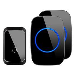 Wireless Doorbell Button, CACAZI A60 Waterproof Door Chime K