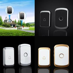Wireless Doorbell Chime Kit Portable Receiver Waterproof But