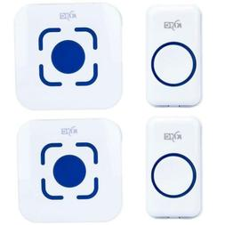 Wireless Doorbell Chime Waterproof Door Bell Plug In Receive