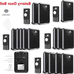 1Byone Wireless Doorbell Chime Waterproof Home 36 Melodies R