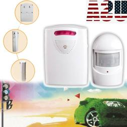 wireless doorbell driveway detector alarm system infrared